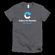 Celery Women's T-Shirt - Asphalt