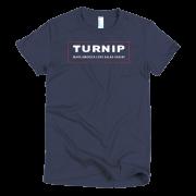 Turnip Women's T-Shirt - Navy