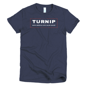 Turnip Women's T-Shirt - Navy