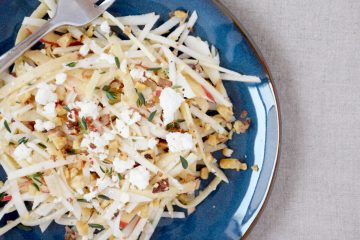 Apple Turnip Slaw