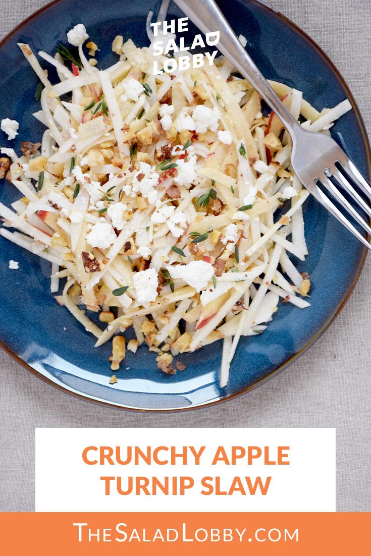 Crunchy Apple Turnip Slaw