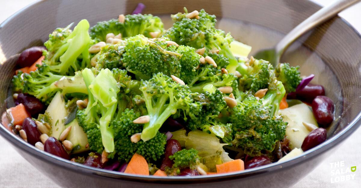 How to make salad - Salad Bar Salad