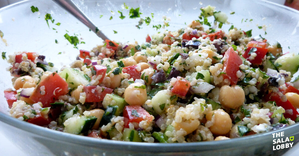 Why I love salad Lindsay Sauve