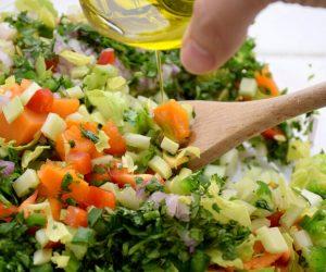 Celery Sweet Potato Salad