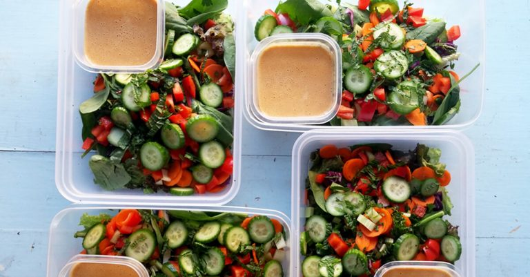 Thai-Inspired Garden Salad with Herbs