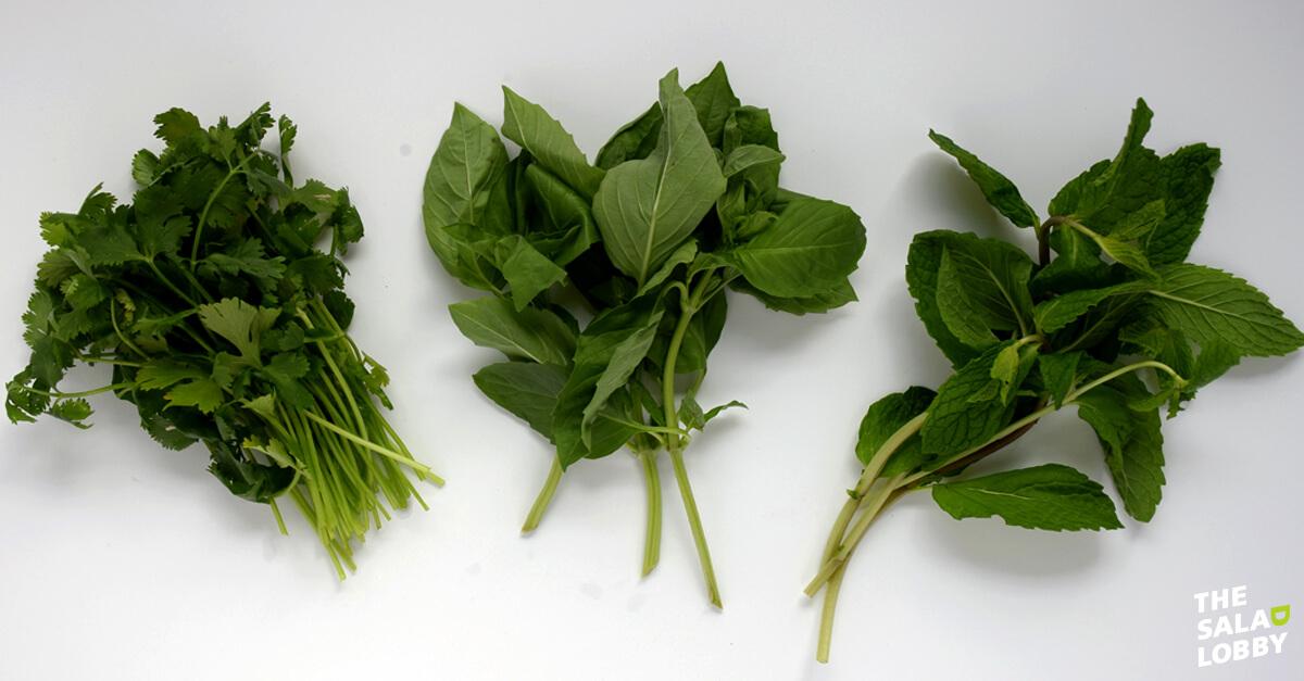 Thai Inspired Garden Salad