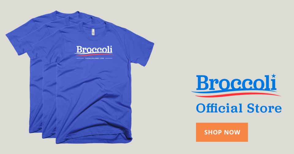 Veggielection 2016 » Broccoli products