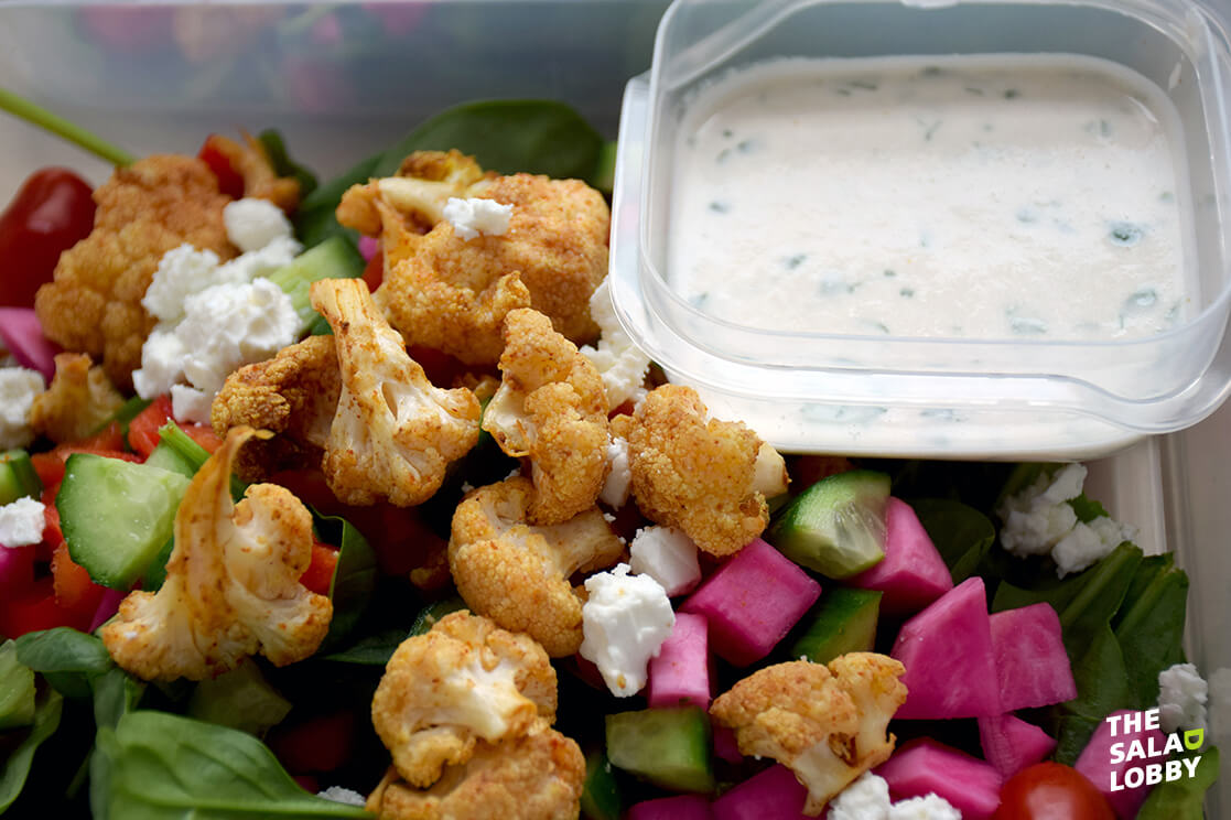 Cauliflower Shawarma Salad