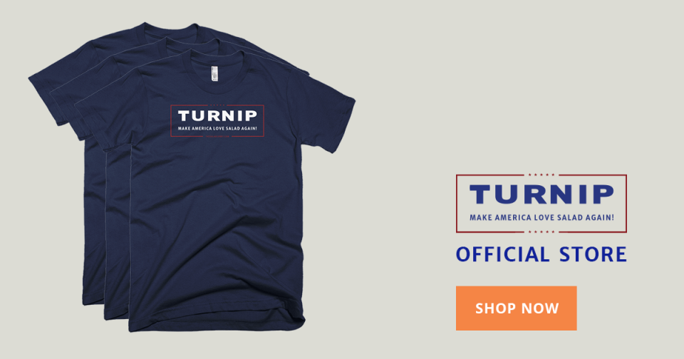 Veggielection 2016 » Turnip products