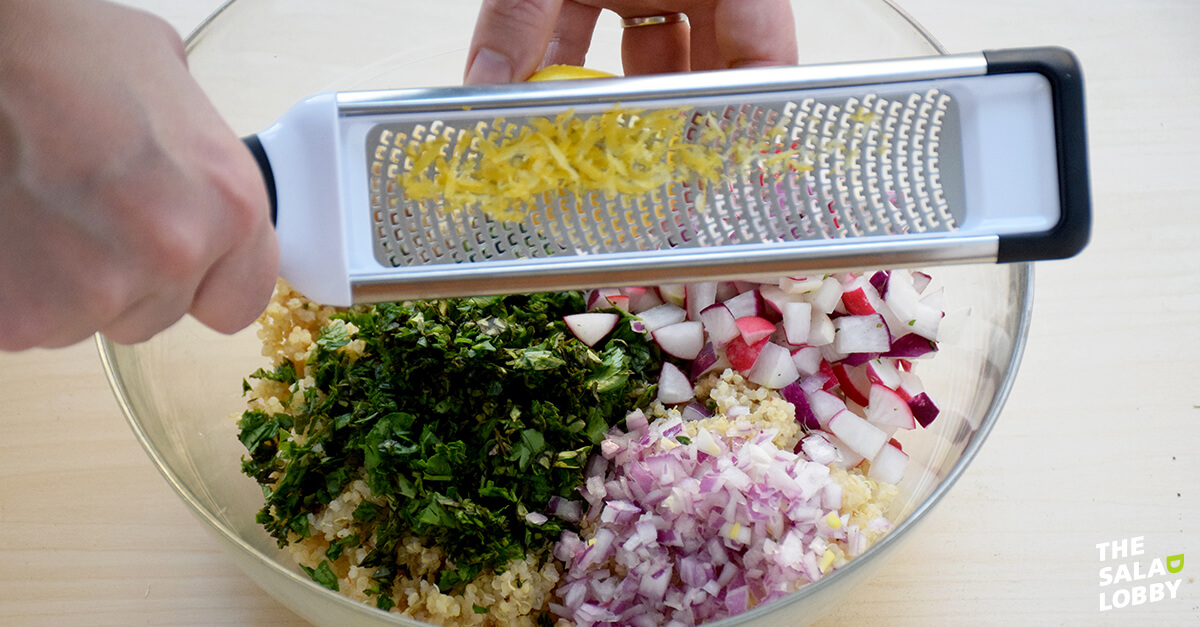 Quinoa Salad with Herbs