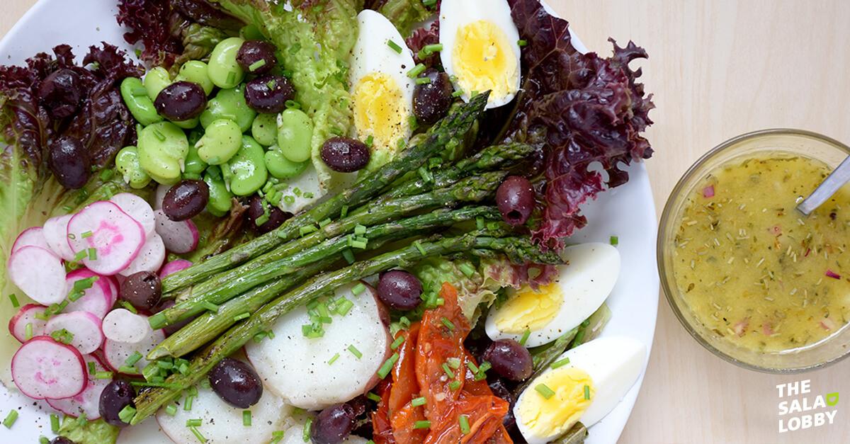 Vegetarian Nicoise Salad